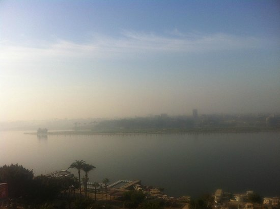 Sofitel Cairo Maadi Towers: Nile view from room