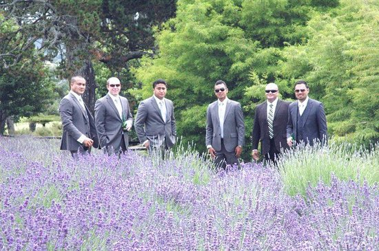 Coatesville Lavender Hill Luxury Bed & Breakfast: James Niu and his attendants, Dec 12
