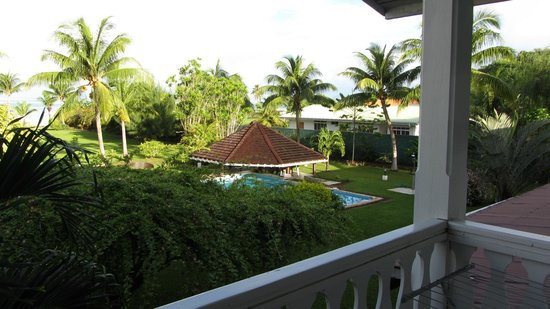Raiatea Lodge Hotel: View from Balcony