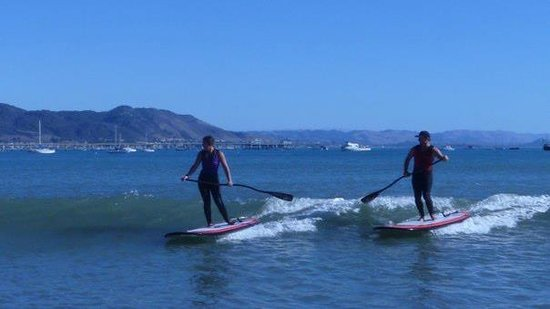 Avila Beach, Kalifornia: SUP Surfing