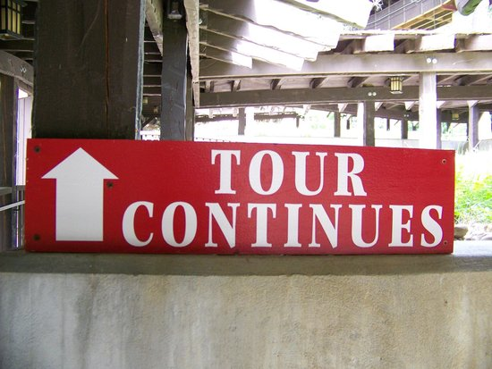 House on the Rock: There Comes a Time When you Dread this Sign.....