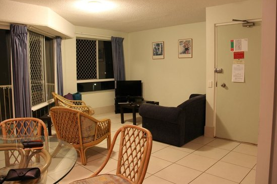 Pacific Horizons Holiday Apartments: Lounge