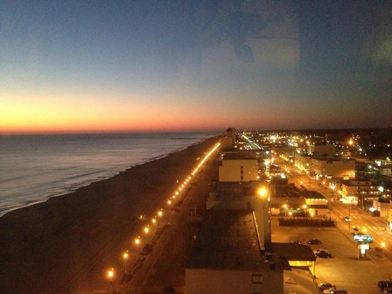 Hilton Virginia Beach Oceanfront: view from south east room