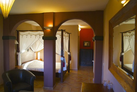 Finca el Tossal: one of the junior suite double rooms