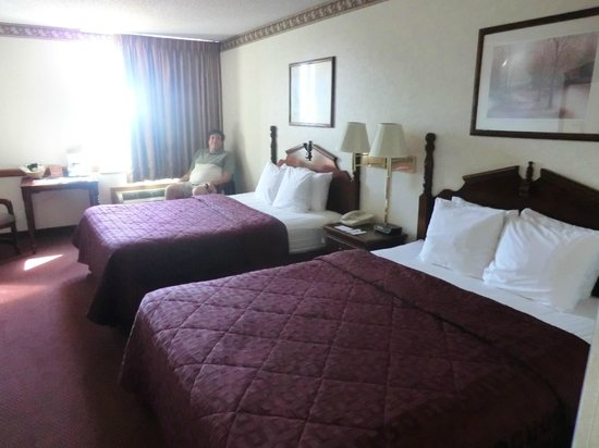 Comfort Inn at Thousand Hills: bedroom