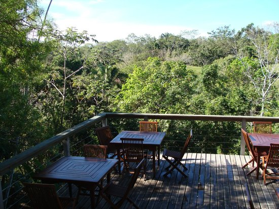 Nature Lodge Finca los Caballos: Frhstcksterrasse