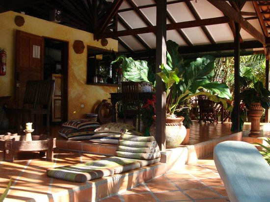 Nature Lodge Finca los Caballos: Blick ins Restaurant
