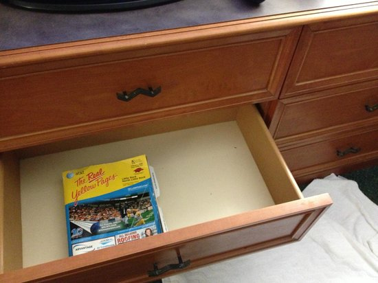 Sherwood, AR: panned-out view of drawer with dead bugs