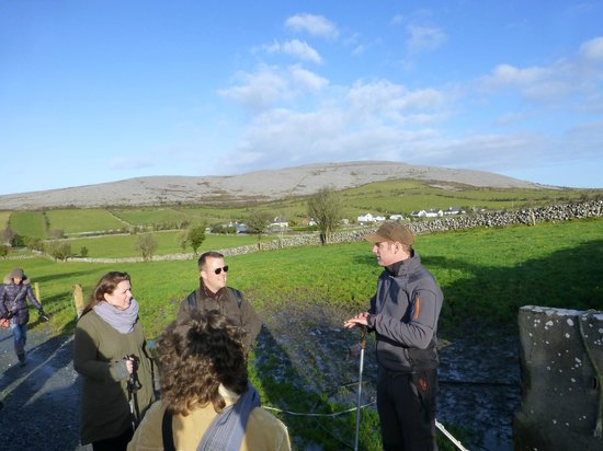 The Burren, : John - the Tour Guide