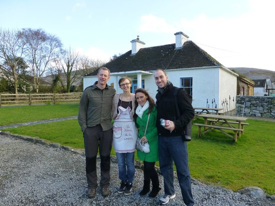 The Burren, Ireland: John, Kasia, Susie &amp; Josh