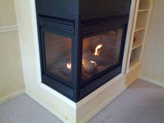 Colby Hill Inn: This is an amazing fireplace that can keep you warm all night long.