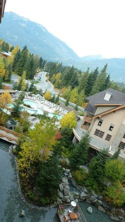 Four Seasons Resort Whistler: View from our Premier Room