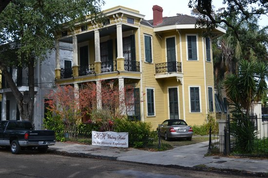 HH Whitney House on the Historic Esplanade: HH whitney house