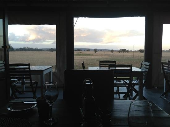 Nacht Wacht Restaurant: view from our table