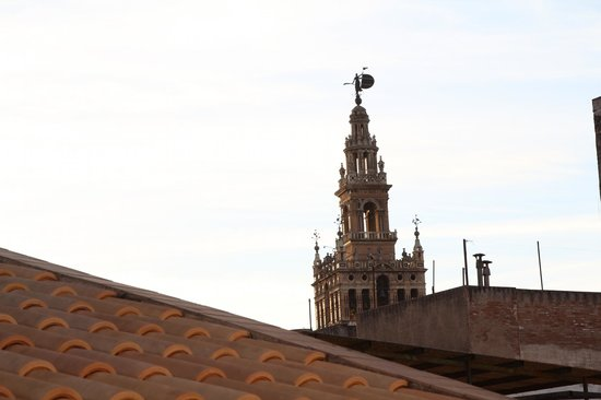 Hotel Murillo: view from our balcony