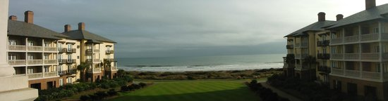 The Sanctuary at Kiawah Island Golf Resort: panoramic view from room