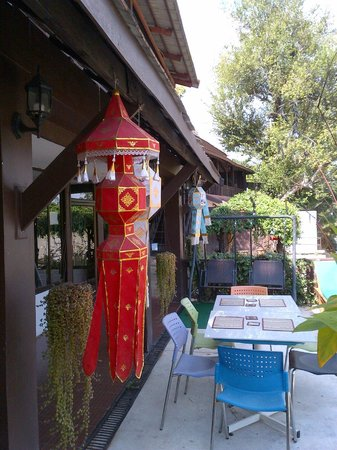 Club One Seven Chiang Mai: Patio