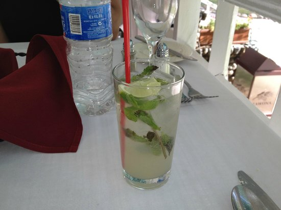 Wawona Hotel: Moscow Mule at Dinner