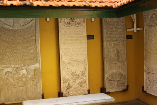 Jewish Cultural Historical Museum: Tablets in museum