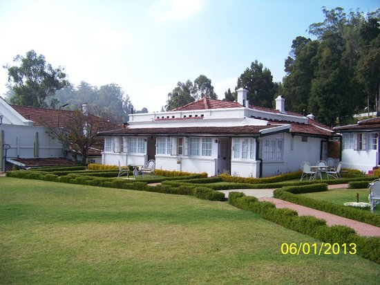 Savoy Hotel Ooty: our cottage