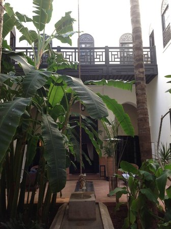 Riad 72: Patio central