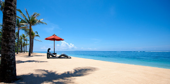 The St. Regis Bali Resort: Private Beach at St. Regis Bali Resort