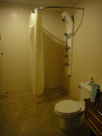 Memoire d' Angkor Boutique Hotel: Bathroom of the first room