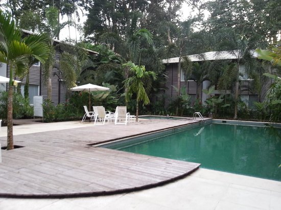 Cocles, Costa Rica: Serene pool area