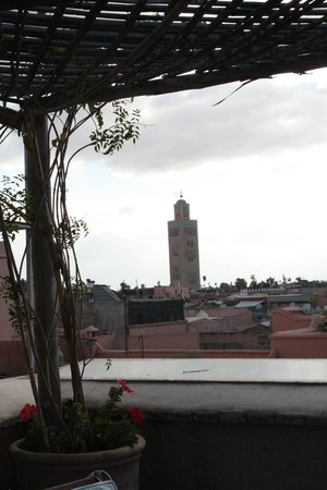 Riad Dixneuf La Ksour: View from the terrace