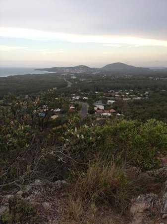 Seacove Resort: An easy climb up Emu Mountain for a great view.