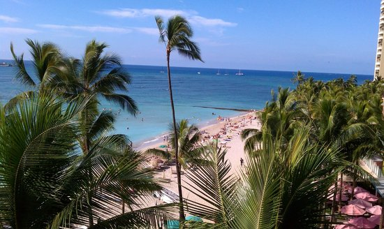 Outrigger Waikiki on the Beach: Beautiful Waikiki Beach