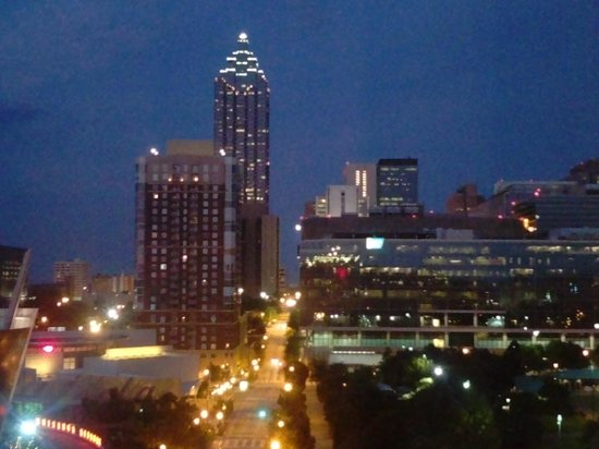Hilton Garden Inn Atlanta Downtown: View from the room