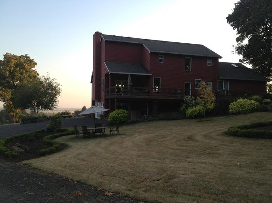 The DreamGiver's Inn: View from the back of the house