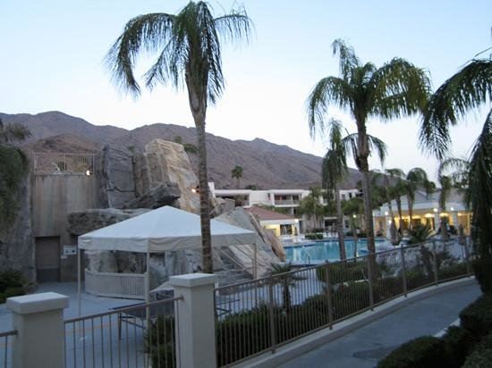 Palm Canyon Resort & Spa: view from patio
