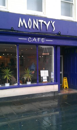 Monty S Cafe Plymouth