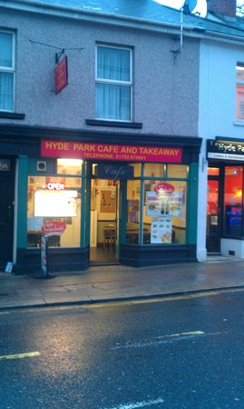 Hyde Park Cafe Plymouth
