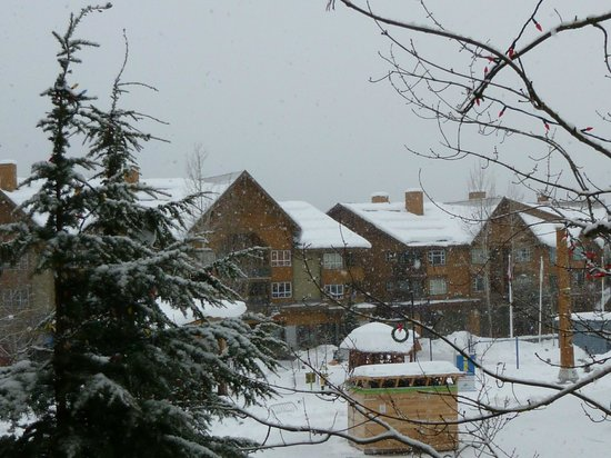 Tyndall Stone Lodge: View from room 1