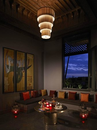 Four Seasons Resort Marrakech: Bleu d&#39;Orange Restaurant
