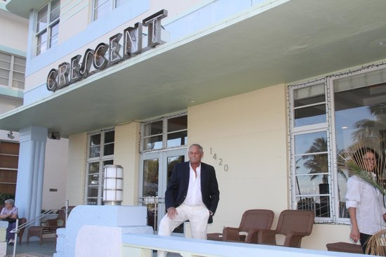 Crescent Resort On South Beach: Front porch