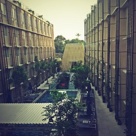 : view from my room, 3rd floor