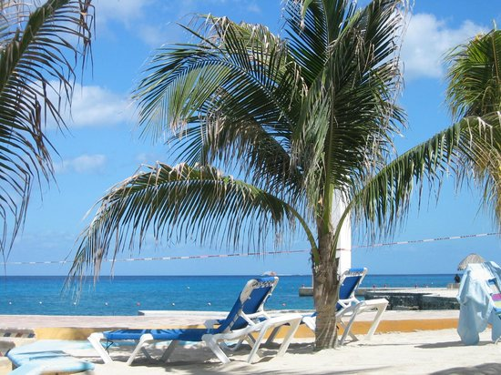 Hotel Cozumel and Resort: Beach