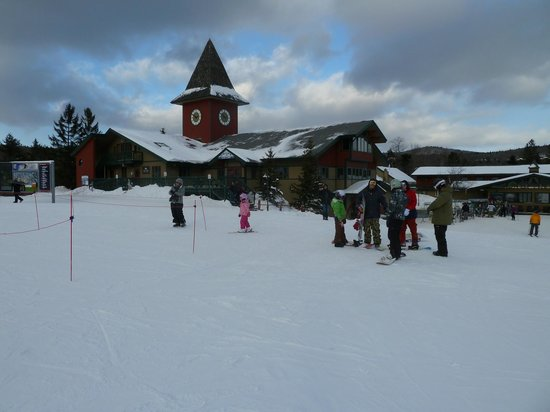 Kitzhof Inn : Base camp Mount Snow
