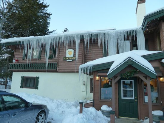 Kitzhof Inn: Very cold