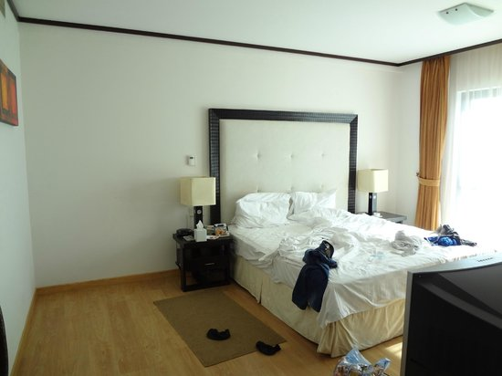 Park Hotel Apartments: Bedroom