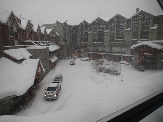 The Listel Hotel Whistler: Everything looks better with snow, and there is no better place than Whistler for it.