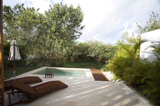 Rosewood Mayakoba: Private pool on lagoon