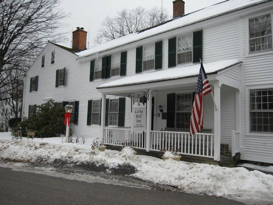 Colby Hill Inn: Quiet New England Charm!