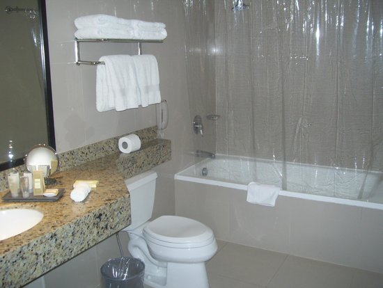 Radisson Hotel Decapolis Miraflores: large bathroom