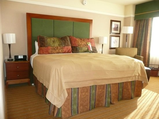 Inverness Hotel and Conference Center: Big comfortable bed!