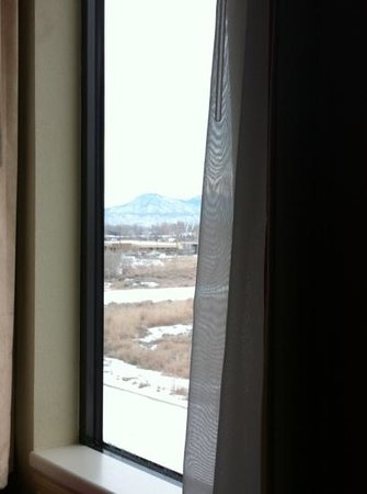 Hampton Inn Canon City: View from my bed
